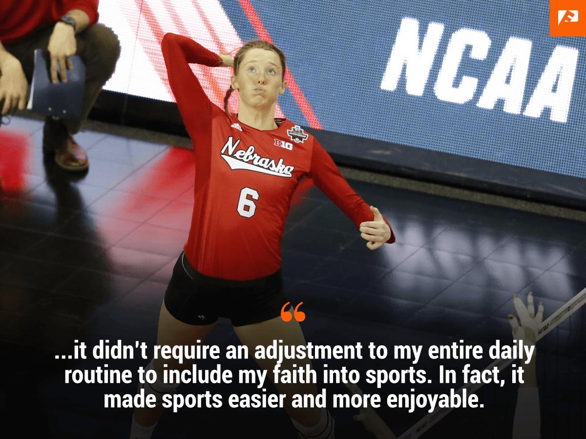 Kadie Rolfzen Husker Volleyball