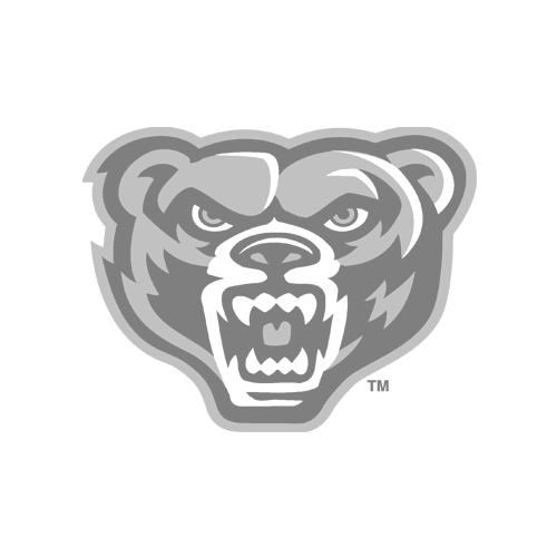 Oakland Golden Grizzlies Logo FanWord