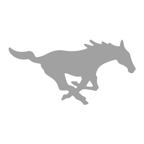 SMU Mustangs Logo FanWord