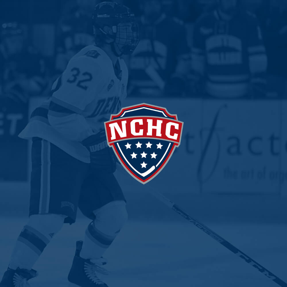 National Collegiate Hockey Conference FanWord Case Study Logo